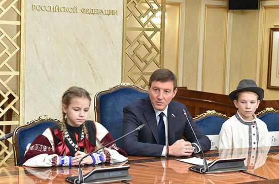 Турчак наградил детей — победителей проекта «Таланты Арктики. Дети»