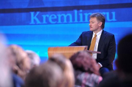 Песков оценил идею Зеленского изменить Минские соглашения