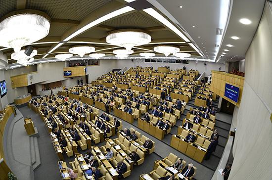 В Госдуму внесли проект компенсационных налоговых мер при торговле маркированными товарами