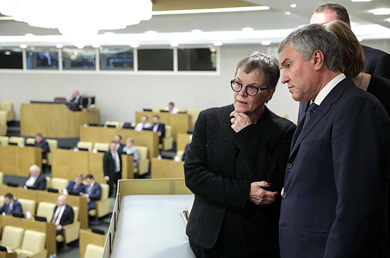 Володин пригласил спикера ПАСЕ посетить Россию в 2020 году