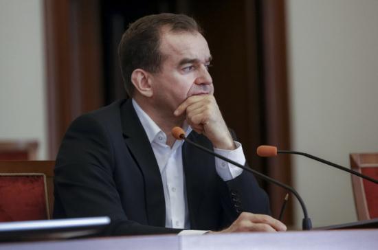 Губернатор Краснодарского края поздравил региональное Заксобрание с 25-летием