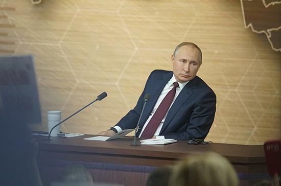 Путин разъяснил смысл закона о суверенном Рунете