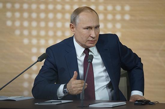 Путин заявил об отсутствии иностранных войск в Донбассе