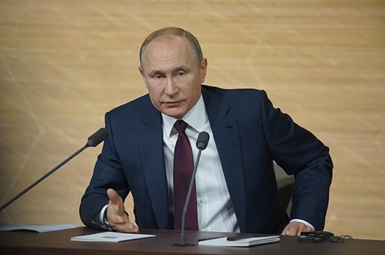 Россия в любой момент готова к продлению СНВ-3, заявил Путин