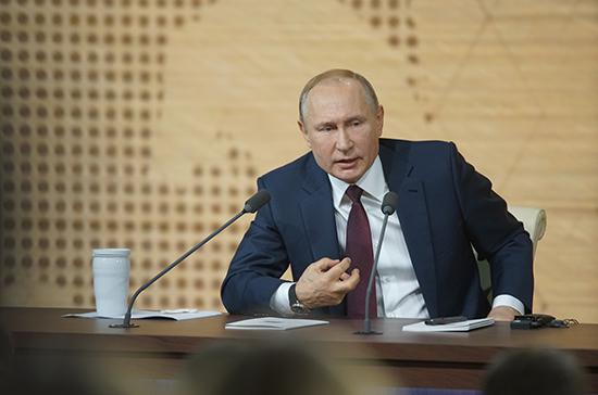 Путин назвал самые тяжелые для него события за 20 лет