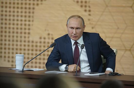 Путин осудил давление на Sputnik в Эстонии