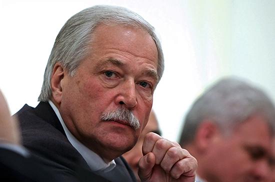 Грызлов: стороны конфликта в Донбассе выступили за прекращение огня