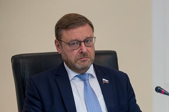 Косачев: Совфед предложит коллегам из ФРГ и Франции начать «нормандский» межпарламентский диалог
