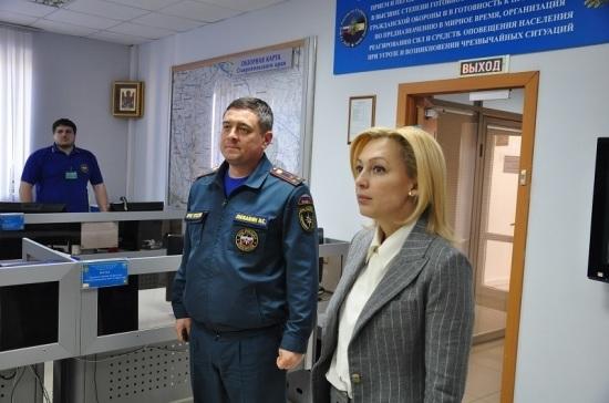 Тимофеева встретилась со ставропольскими спасателями