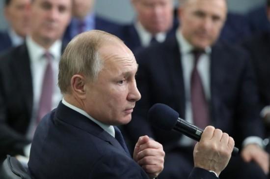 Путин поддержал идею включить производство улиток в список сельхоздеятельности