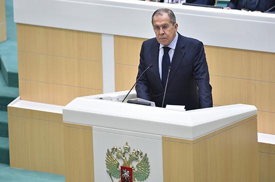 Лавров: Россия ведёт работу по формированию евразийского партнёрства