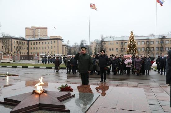 Виктор Золотов встретился с родственниками погибших росгвардейцев