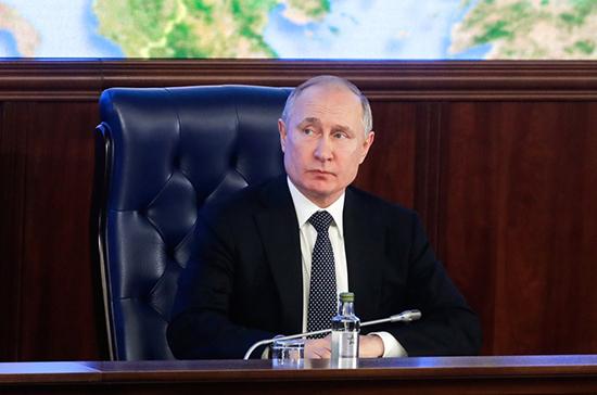Путин: Россия впервые опережает другие страны по передовым вооружениям