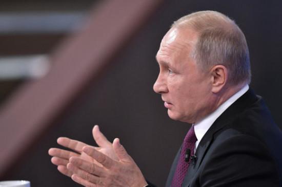 Путин не считает уровень закредитованности российских регионов критическим