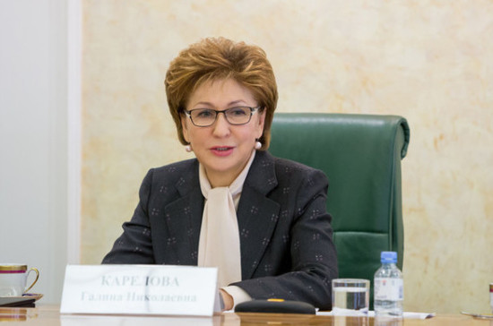 Карелова рассказала о работе комиссий по безопасности детского отдыха