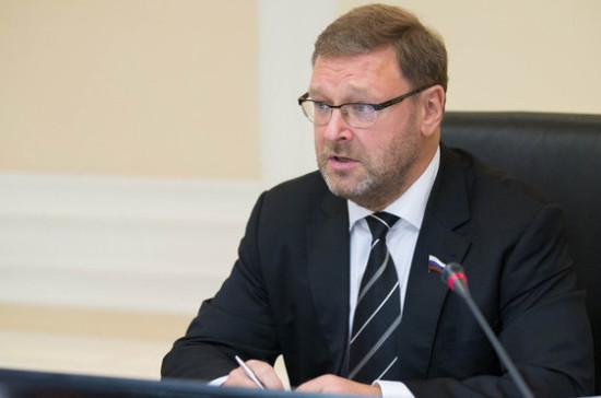 Косачев назвал ожидаемой реакцию Киева на запуск поездов в Крым