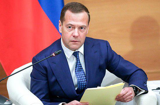Медведев оценил график реализации нацпроектов