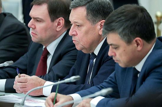 Макаров предложил помочь регионам готовить проектно-сметную документацию в рамках нацпроектов