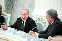 Путин: интересы российского народа должны быть выше политической конъюнктуры