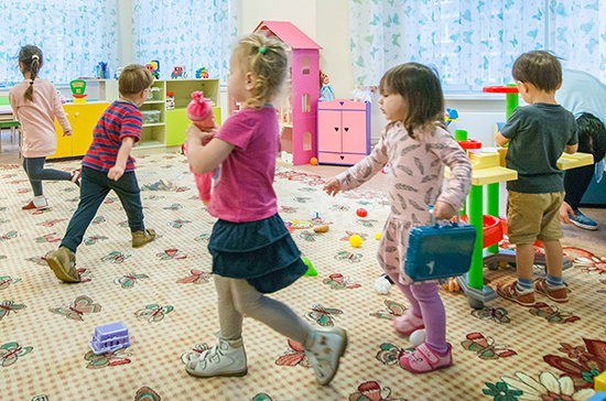 В Совете Федерации хотят упростить создание семейных детских садов