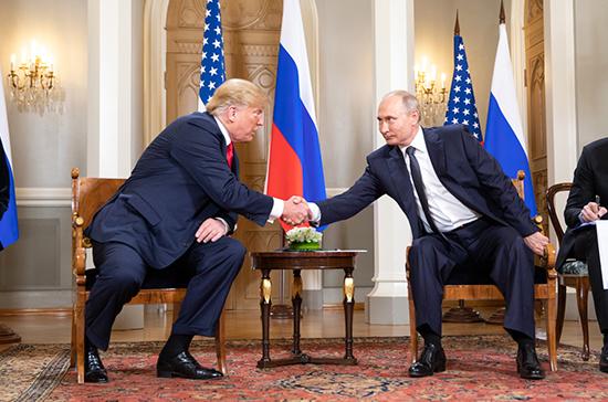 Владимир Путин поздравил Дональда Трампа с Новым Годом