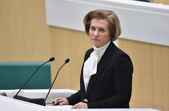 Попова сообщила о снижении заболеваемости острым гепатитом В в России