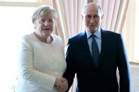 Путин и Меркель подтвердили настрой на дальнейшую поддержку «Северного потока — 2»