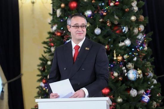 Шапошников поздравил москвичей с наступающим Новым годом