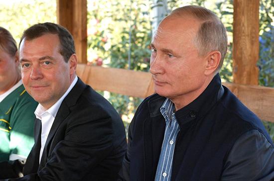 Где встречают Новый год Путин и Медведев