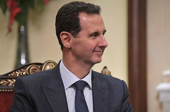 Асад обсудил с делегацией во главе с депутатом Саблиным укрепление отношений России и Сирии