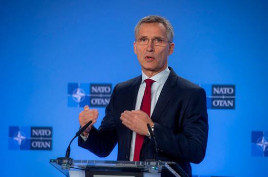 Столтенберг назвал Чёрное море стратегическим регионом для НАТО