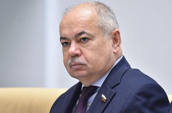 Умаханов: Совет Федерации готов заявлять о позиции Ирана на межпарламентских площадках