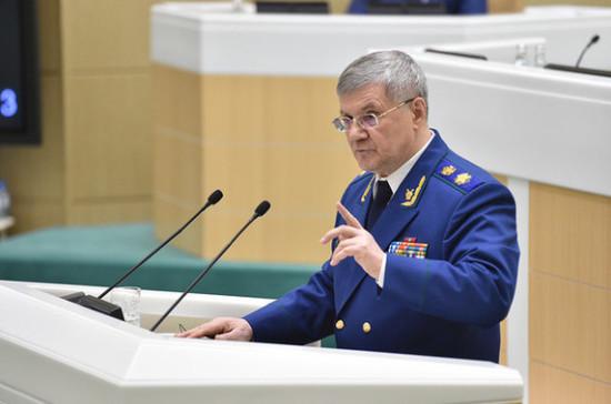 Юрий Чайка: более полумиллиону россиян выплачены долги по зарплате в 2019 году