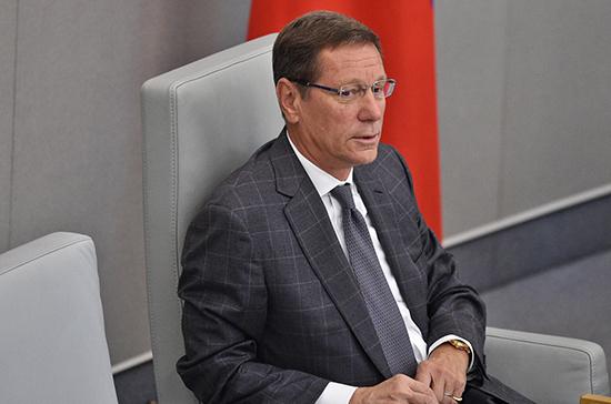 Жуков рассказал о плане работы Госдумы на 16 января