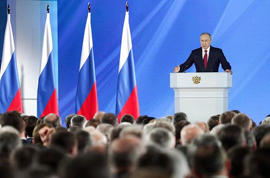 Россия впервые в истории является лидером в сфере вооружения, заявил Путин