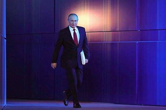 Путин объяснил, почему оглашает Послание в начале года