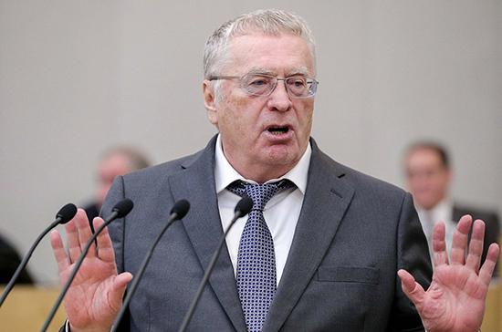 Жириновский: партии в Госдуме не должны получать более 40% мест