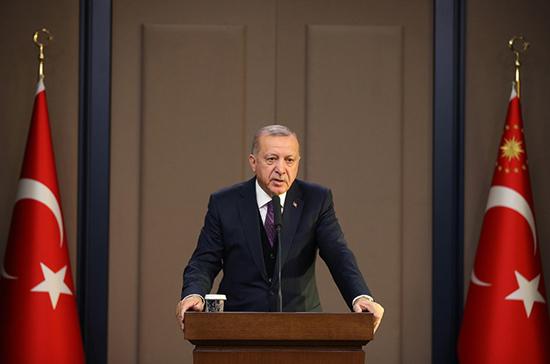 Эрдоган: конференция в Берлине поможет закрепить перемирие в Ливии