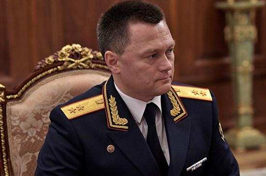 Краснов пообещал президенту работать, чтобы Конституция и законы соблюдались