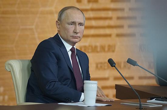 Путин заявил о готовности России наращивать взаимодействие с Палестиной