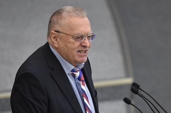 Жириновский раскритиковал слова Водонаевой о «быдле»