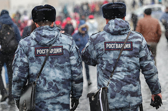 Полицейским и росгвардейцам в Москве и Петербурге установили надбавки за охрану порядка