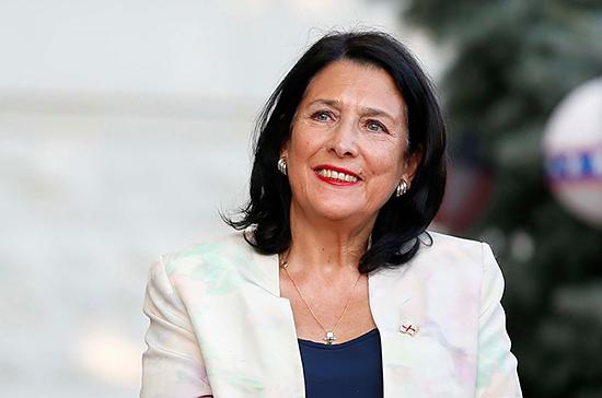 Президент Грузии заявила, что не приглашала российскую делегацию в Тбилиси