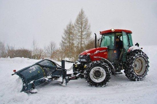 В Новосибирске ввели режим ЧС из-за снегопада