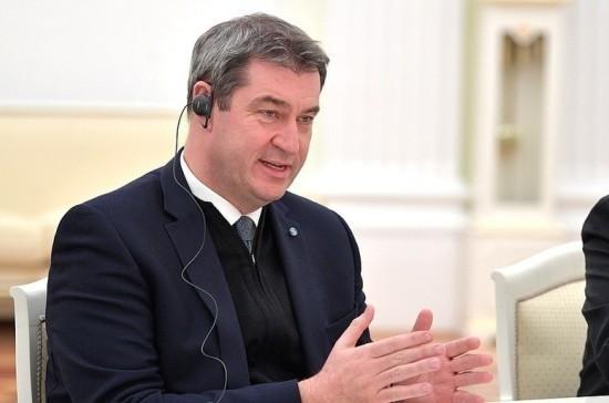 Премьер Баварии высказался за сотрудничество с Россией в расследовании убийства в Берлине