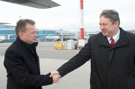 Министры обороны Польши и Литвы обсуждают безопасность Сувалкского коридора