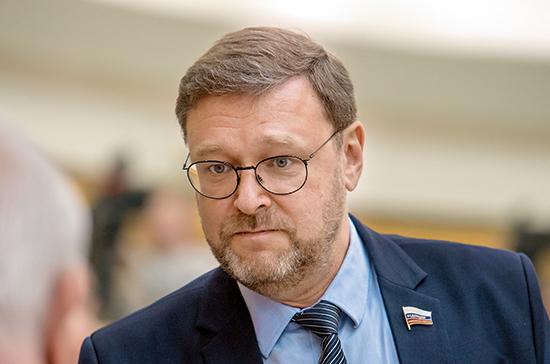 Косачев: в 2020 году тема охраны памятников против нацизма должна найти отражение в решениях ООН