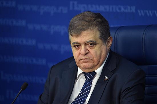 Джабаров призвал обсудить в ОБСЕ ситуацию со Sputnik Эстония