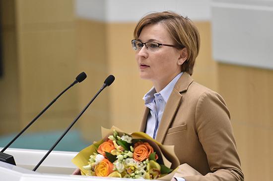 Людмила Бокова досрочно покинула Совет Федерации