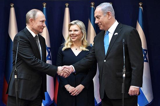 Путин и Нетаньяху обсудят американскую «сделку века»